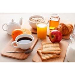 Petit-déjeuner pour 1 personne